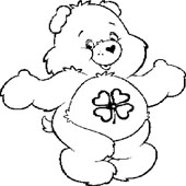 Care Bear Coloring Page 9