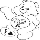 Care Bear Coloring Page 10