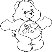 Care Bear Coloring Page 11