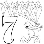 Number Coloring 7