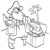 Pirate Coloring Pages 2