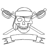 Pirate Coloring Pages 8