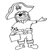 Pirate Coloring Pages 10