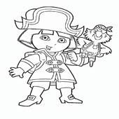 Pirate Coloring Pages 11