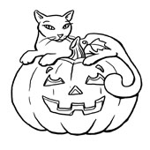 Pumpkin Coloring Pages 1