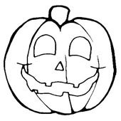 Pumpkin Coloring Pages 2