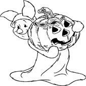 Pumpkin Coloring Pages 3