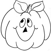 Pumpkin Coloring Pages 5