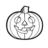 Pumpkin Coloring Pages 6