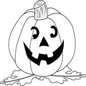 Pumpkin Coloring Pages 9