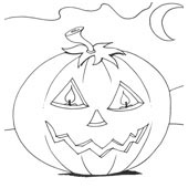 Pumpkin Coloring Pages 10