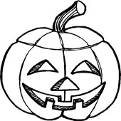 Pumpkin Coloring Pages 11