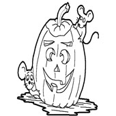 Pumpkin Coloring Pages 12