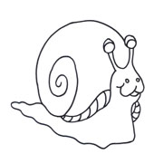 Snail Coloring 4