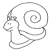 Snail Coloring 9