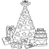 Christmas Tree Coloring 3
