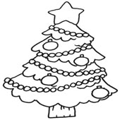 Christmas Tree Coloring 5