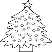 Christmas Tree Coloring 6