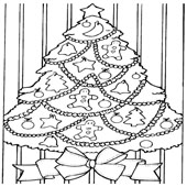 Christmas Tree Coloring 8