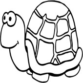 Turtle Coloring Pages 3