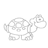 Turtle Coloring Pages 8