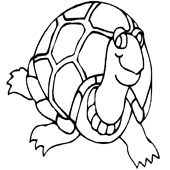 Turtle Coloring Pages 9