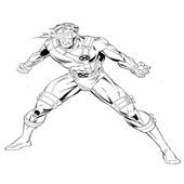 X Men Coloring Pages 3