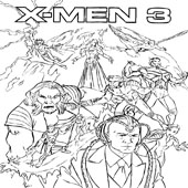 X Men Coloring Pages 6
