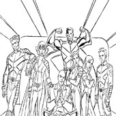 X Men Coloring Pages 8