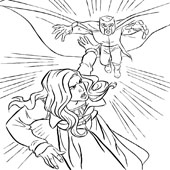 X Men Coloring Pages 11